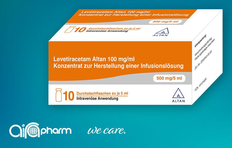 Levetiracetam Altan 100 mg/ml